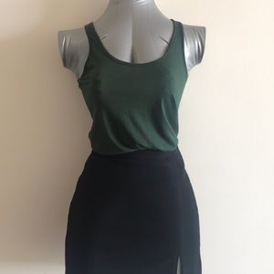 DKNY Forrest Green Casual Top